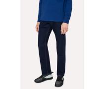 Standard-Fit 12oz 'Authentic Comfort Stretch' Indigo-Rinse Jeans
