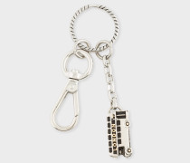 Silver 'London Bus' Keyring