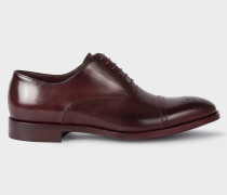 Aubergine Calf Leather 'Bertin' Brogues