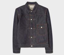 x FULLCOUNT - 13oz Selvedge Denim Pleat-Front Jacket