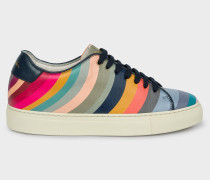 'Swirl' Leather 'Basso' Trainers