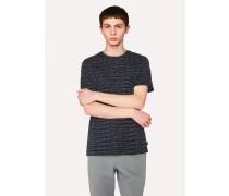 Dark Navy Dash-Stripe T-Shirt