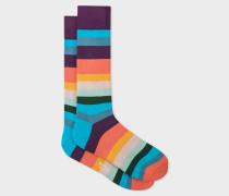 'Artist Stripe' Socks