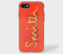 Coral 'Paul Smith' Motif Lenticular iPhone 7 Case