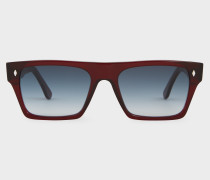Cutler And Gross + - Bristol Red Sunglasses - Limited Edition