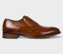Tan Calf Leather 'Lomax' Oxford Shoes