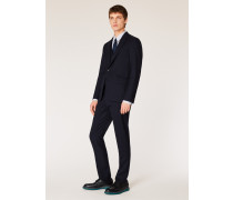 The Soho - Tailored-Fit Navy Wool 'A Suit To Travel In'