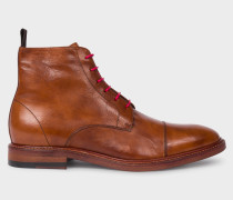 Tan Calf Leather 'Jarman' Boots