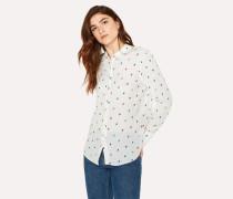 White 'Ice Lolly' Print Shirt