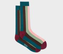 Vertical 'Artist Stripe' Socks