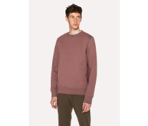 Mauve Organic-Cotton Sweatshirt