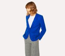 Indigo Wool-Hopsack Blazer With 'Acapulco' Lining