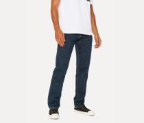 Standard-Fit Dark Wash 'Left Hand Twill' Denim Jeans