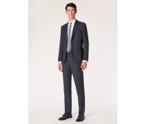 The Soho - Tailored-Fit Dark Navy Birdseye Wool Suit
