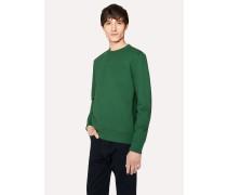 Dark Green Organic-Cotton Sweatshirt