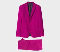 The Kensington - Slim-Fit Purple Wool Suit