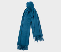 Teal Large Cashmere Scarf