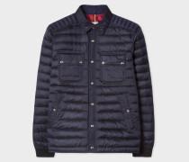 Navy Lightweight Down-Filled Jacket