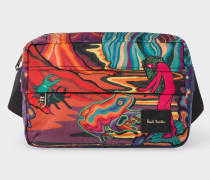 Canvas 'Dreamer' Print Bum Bag