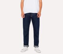 Standard-Fit 12.5oz Indigo Rinse 'Rigid Western Twill' Denim Jeans