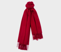 Burgundy Large Cashmere Scarf