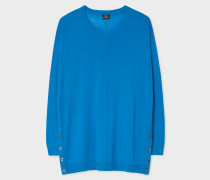 Turquoise Oversized Wool Sweater