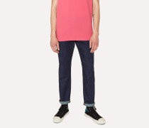 Tapered-Fit 11.8oz 'Super Soft Cross-Hatch' Indigo Jeans