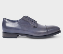 Blue Parma Leather 'Ernest' Shoes