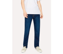 Standard-Fit Dark Wash 12oz 'Authentic Comfort Stretch' Jeans