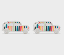 'Artist Stripe' Mini-Car Cufflinks