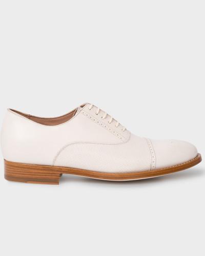 Günstig Kaufen Professionelle Paul Smith Damen Off-White Leather 'Bertie' Brogues Viele Arten Von Günstiger Online htT02