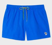 Blue Zebra Logo Swim Shorts