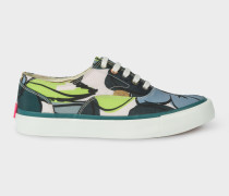 Lime Floral 'Balfour' Trainers