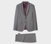 The Kensington - Slim-Fit Grey Check Wool Suit