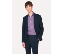 Tailored-Fit Dark Navy Loro Piana Wool Blazer