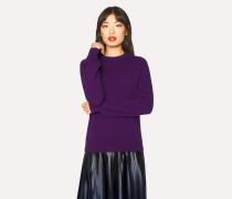 Violet Cashmere Sweater