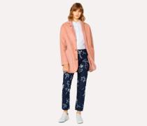 Dusky Pink Faux Fur Reversible Coat