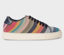 'Glitter Swirl' Leather 'Basso' Trainers