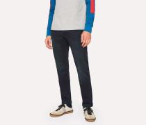 Slim-Fit 11.8oz 'Super Soft Cross-Hatch' Over-Dyed Jeans