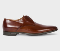 Tan Leather 'Coney' Derby Shoes