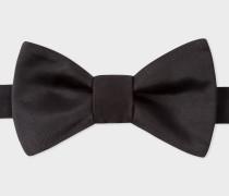 Black Self-Tie Silk Bow Tie