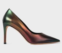 'Artist Stripe' Gradient 'Annete' Heels