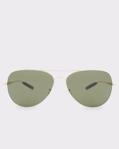 Gold 'Davison' Sunglasses