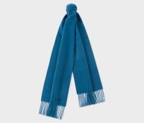 Petrol Blue Cashmere Scarf