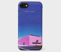 'LA Shop' Leather iPhone 6/6S/7/8 Case