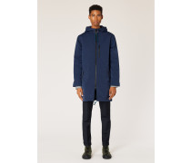 Navy Showerproof Parka