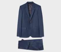 The Soho - Tailored-Fit Navy Wool Suit