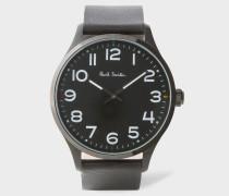Black 'Tempo' Watch