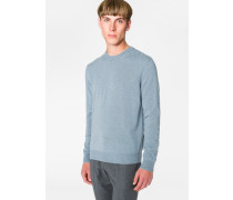 Slate Blue Marl Cashmere Sweater