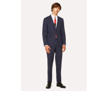 The Kensington - Slim-Fit Navy Wool 'A Suit To Travel In'